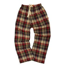 Vanilla Park Kids soft woven check lounge pants