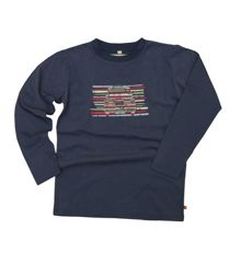 Boys soft jersey long sleeve lounge top