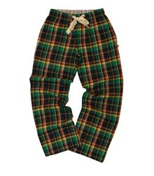 Kids soft woven check lounge pants