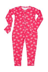 Girls jersey onesie