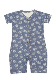 Girls shortie onesie