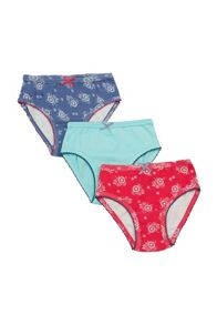 Mini Vanilla Girls 3 pack of knickers