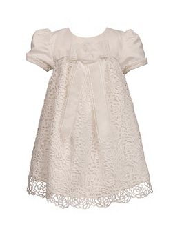 Girls short sleeve occasion dress