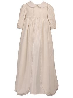 Unisex Velour Christening Robe