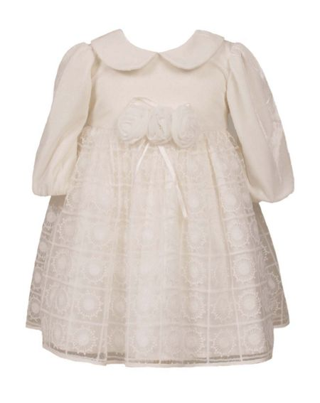Heritage Girls Velour / Lace Dress
