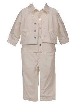 Boys Velour 4 Piece Set