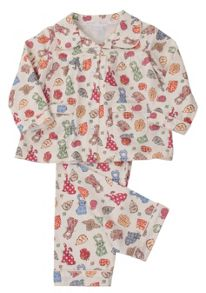 Mini Vanilla Girls Traditional Pyjamas