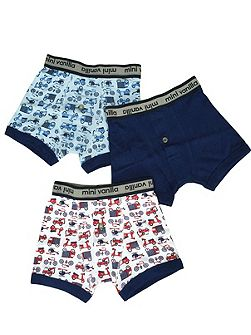 Boys 3 Pack of Boxed Boxers