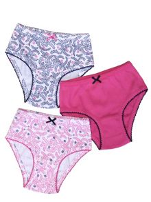 Girls 3 Pack of Knickers