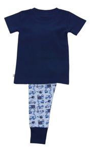 Mini Vanilla Boys `Skinny` Fit Short Sleeve Pyjamas