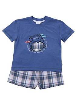 Boys Shortie Lounge Pyjamas