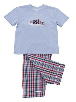 Boys Short Sleeve Lounge Pyjamas