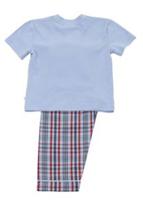 Mini Vanilla Boys Short Sleeve Lounge Pyjamas