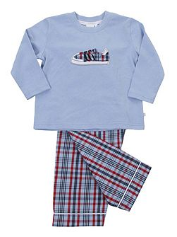 Boys Long Sleeve Lounge Pyjamas