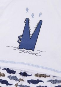 Mini Vanilla Boys Jersey Shortie Pyjamas