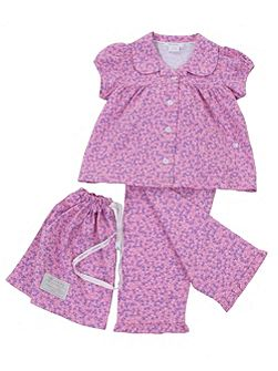 Girls Traditional Pyjamas