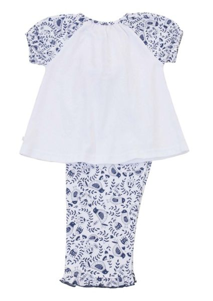 Mini Vanilla Girls Short Sleeve Lounge Pyjamas