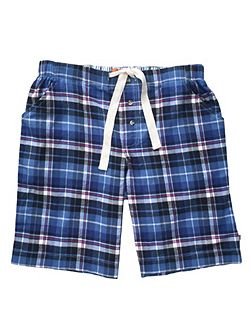 Boys Check Lounge Shorts
