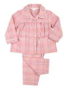 Mini Vanilla Girls Traditional Woven Pyjamas