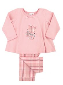 Mini Vanilla Girls Floral Applique Pyjamas