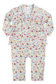 Mini Vanilla Baby Girls Mock Pyjamas