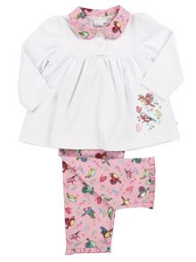 Mini Vanilla Girls Bird Print Pyjamas