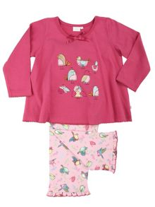Mini Vanilla Girls Birds Lounge Pyjamas