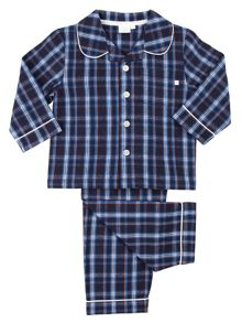 Mini Vanilla Boys Traditional Woven Pyjamas