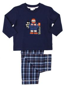 Mini Vanilla Boys Racing Driver Pyjamas