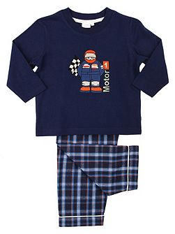 Boys Racing Driver Pyjamas
