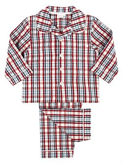 Boys Traditional Woven Pyjamas