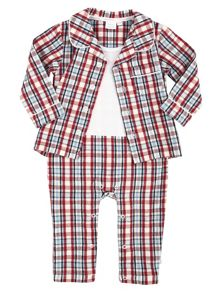 Mini Vanilla Baby Boys Mock Pyjamas