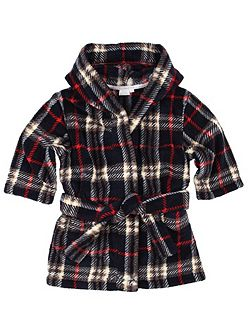Boys Printed Hooded Robe