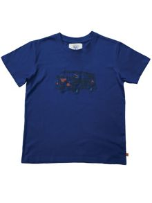 Mini Vanilla Boys Blue T-shirt