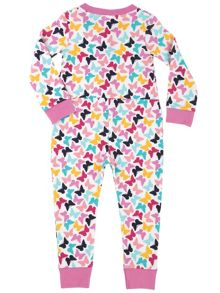 Mini Vanilla Girls Butterfly Comfy Fit Pyjamas