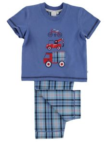 Mini Vanilla Boys Vehicles Pyjamas