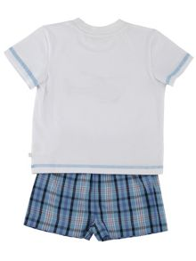 Mini Vanilla Boys Helicopter Pyjamas