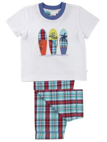 Mini Vanilla Boys Surf Board Pyjamas