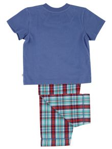 Mini Vanilla Boys Cotton Lounge Pyjamas