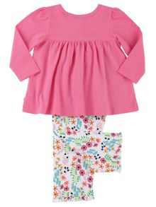 Mini Vanilla Girls Jersey Lounge Pyjamas