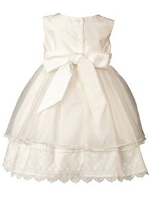 Heritage Amelia Antique White Sleeveless Dress