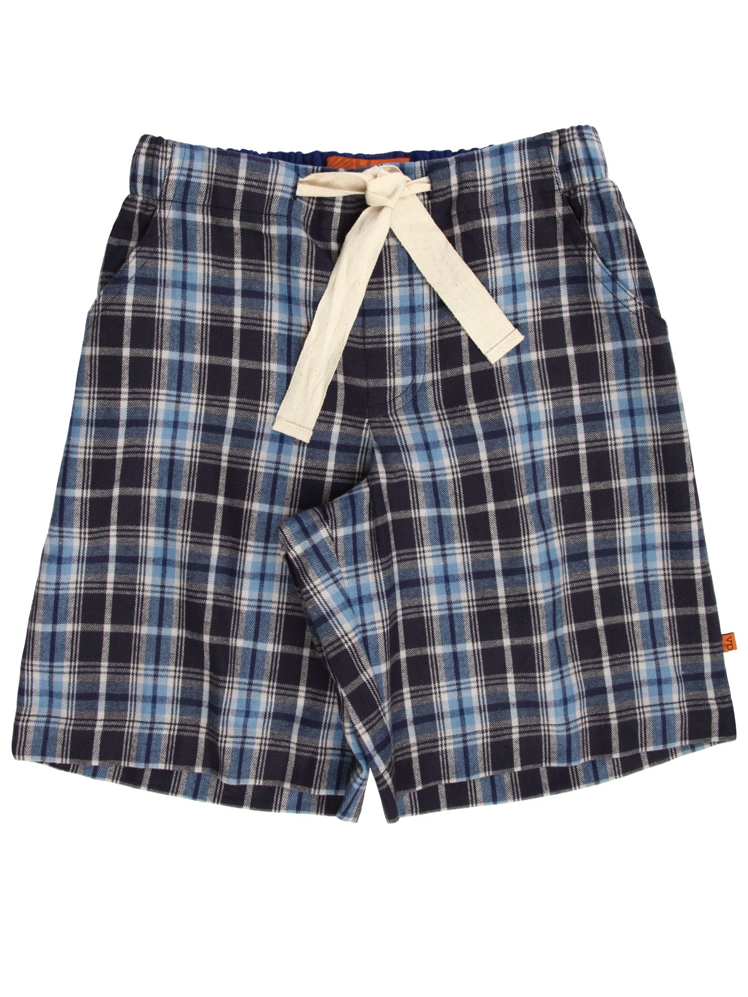 Click to view product details and reviews for Mini Vanilla Boys Cotton Lounge Shorts Blue.