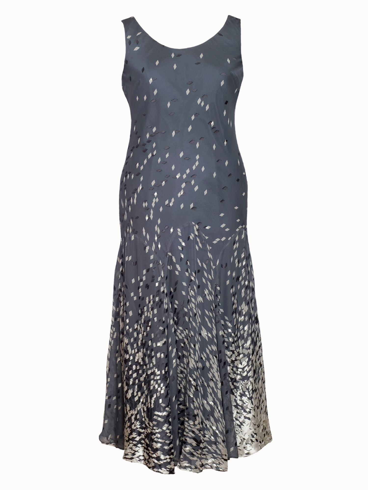 Diamond print devoree dress