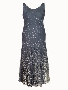 Chesca Diamond print devoree dress