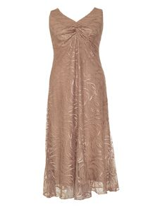 Chesca Line mesh lace dress