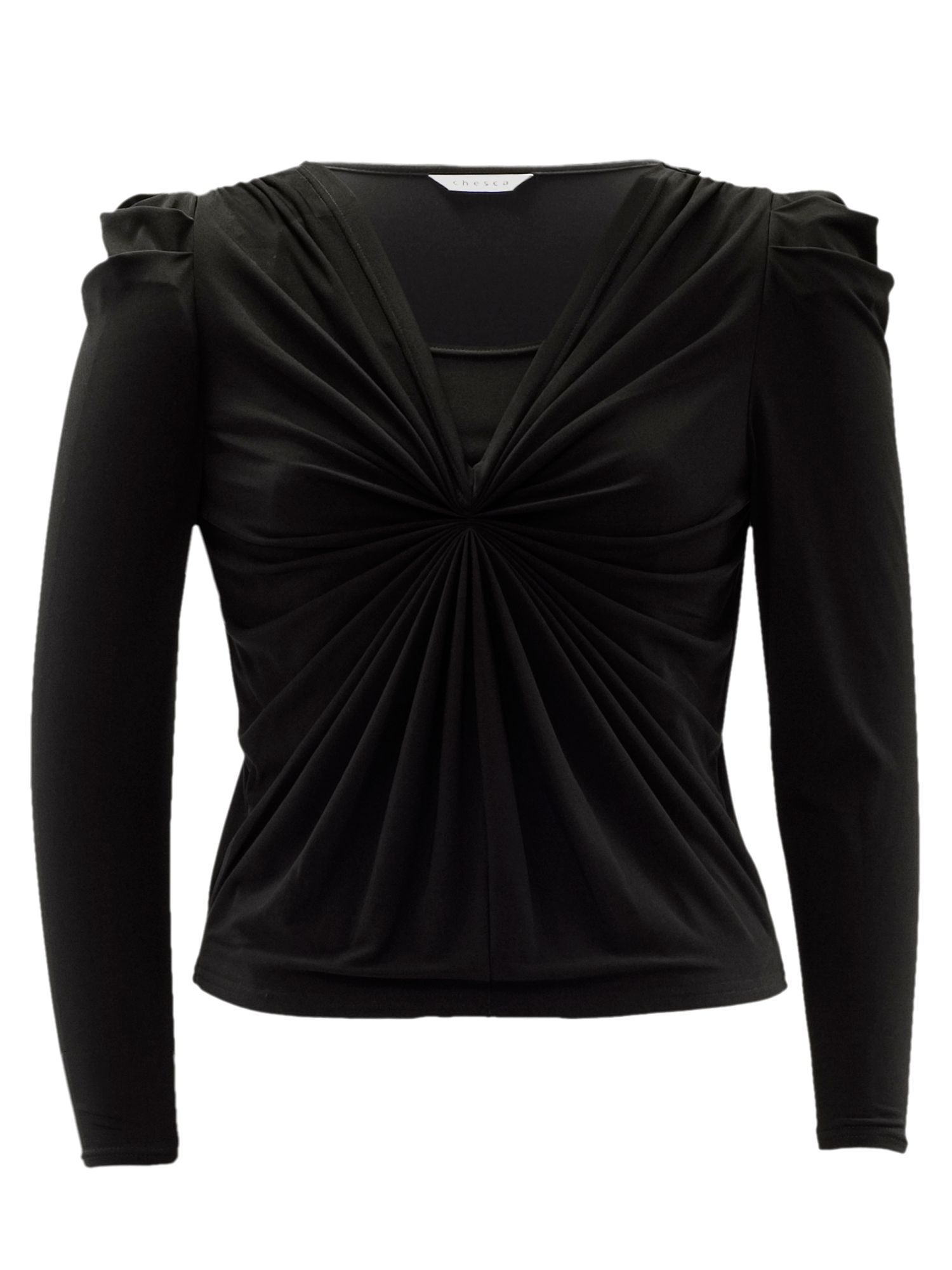Fan pleat top