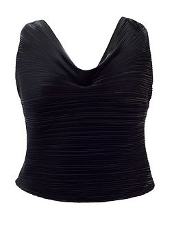 Plus Size Pleated camisole