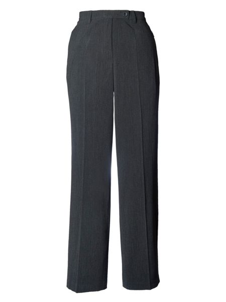 Chesca Plus Size Zip Pocket Trouser