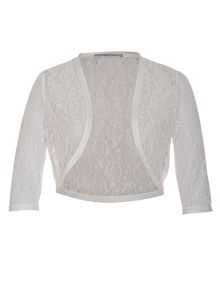 Chesca Lace Bridal Bolero