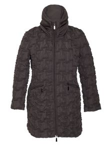 Chesca Bonfire coat with hood